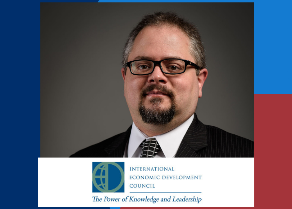 FCEDC's Robert Van Geons is Named 2021 Chair of IEDC Public Policy Advisory Committee