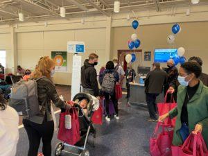 Boarding FAY to DFW Flight