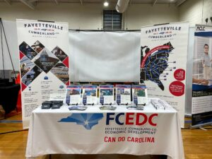 FCEDC booth at NCMBC FTCC Event