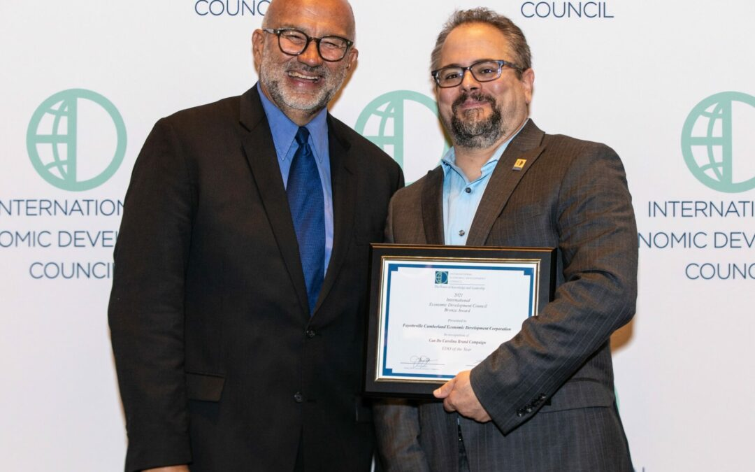 FCEDC Receives Award for Economic Development Organization of the Year